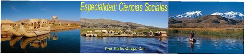 ESPECIALISTA: CIENCIAS SOCIALES-UGELSR