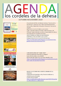Agenda Los cordeles de la dehesa (octubre-noviembre)