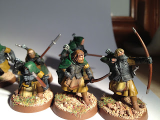 The Hobbit Arnor - warband of Arnor Rangers