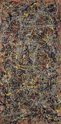 """No.5 ,1948""by Jackson Pollock (162.7 Million)"