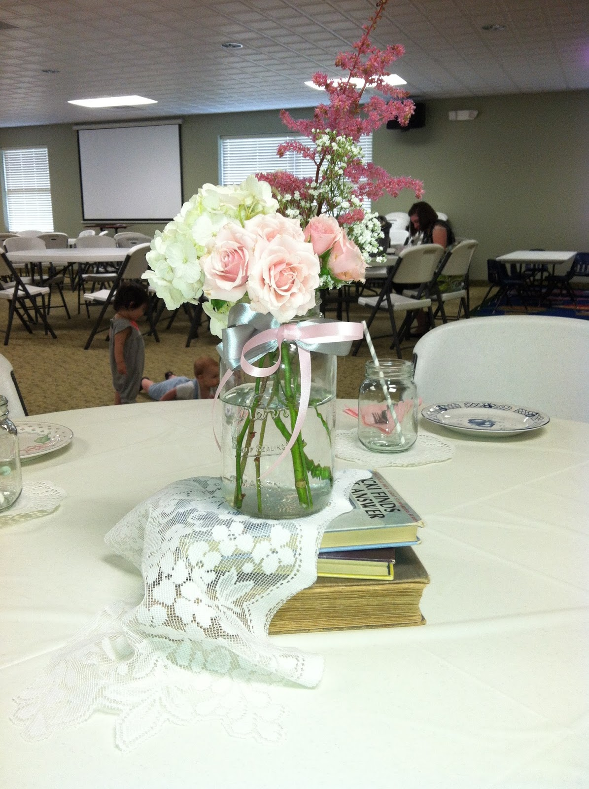 fields in bloom shabby chic baby shower