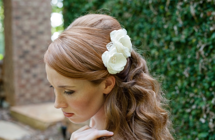 Wedding Hairstyles Updos With Flowers