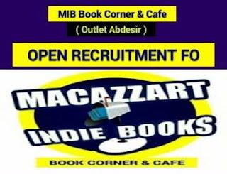 Lowongan Kerja MIB Book Cornet & Cafe Outlet Makassar