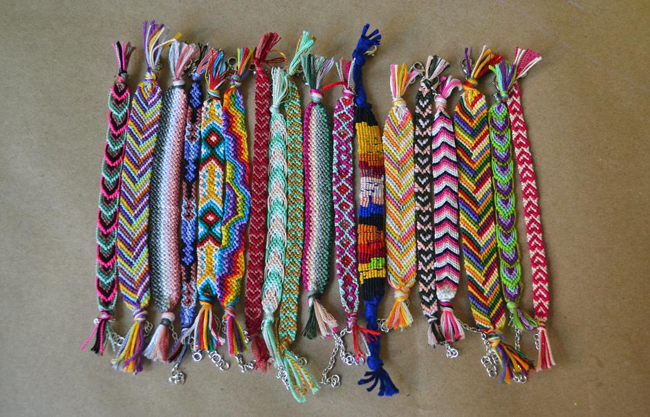All the good girls go to heaven ☩diy☩ friendship bracelets