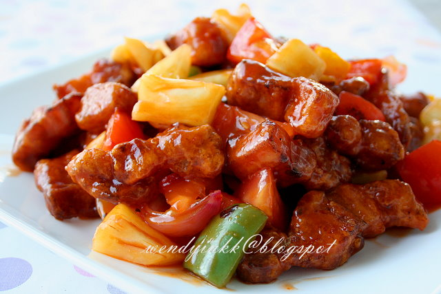 sweet and sour pork recipe sweet and sour pork sweet and sour chicken ...