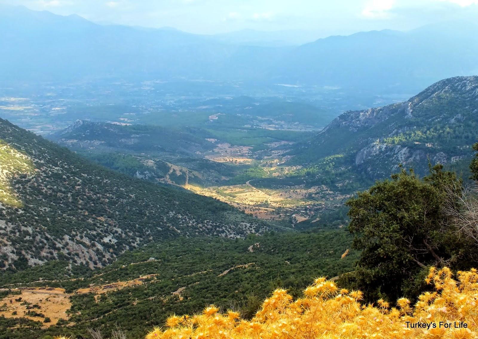Babadağ Mountain Views, South West Turkey