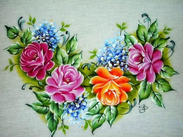Fotos De Flores Coloridas Para Imprimir - Flor para colorir Desenhos para Colorir