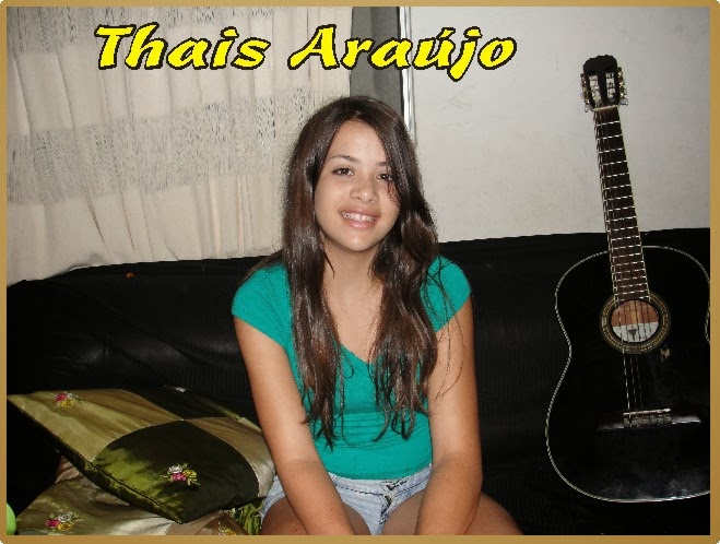 Thais Martins Araújo na Adolescência