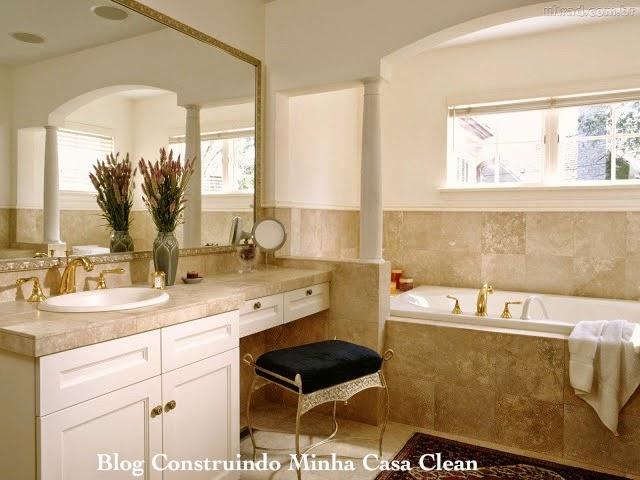 Construindo minha casa clean banheiros femininos com for Piccolo cottage moderno