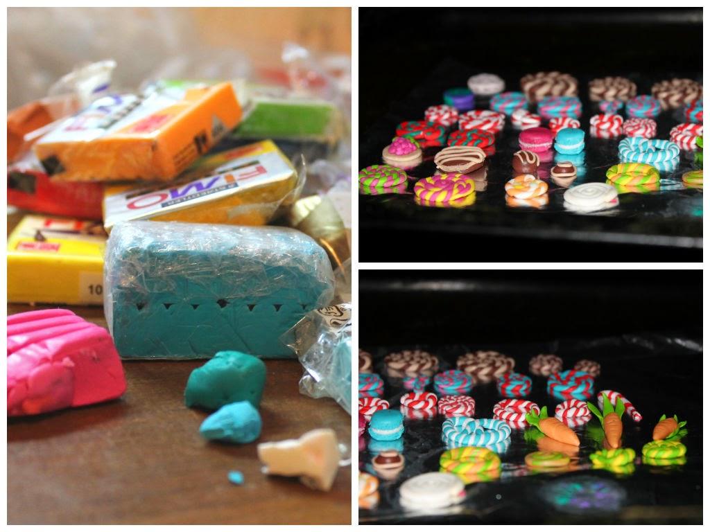 fimo, глина, конфеты, морковь, лепка, алматы