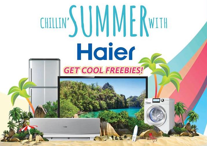 Haier Chillin' Summer Promo