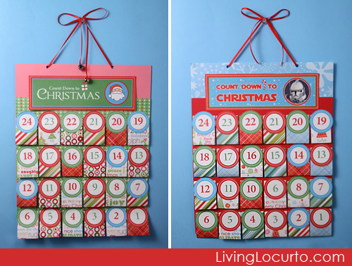 ... amazing is this FREE Printable Advent Calendar from Living Locurto