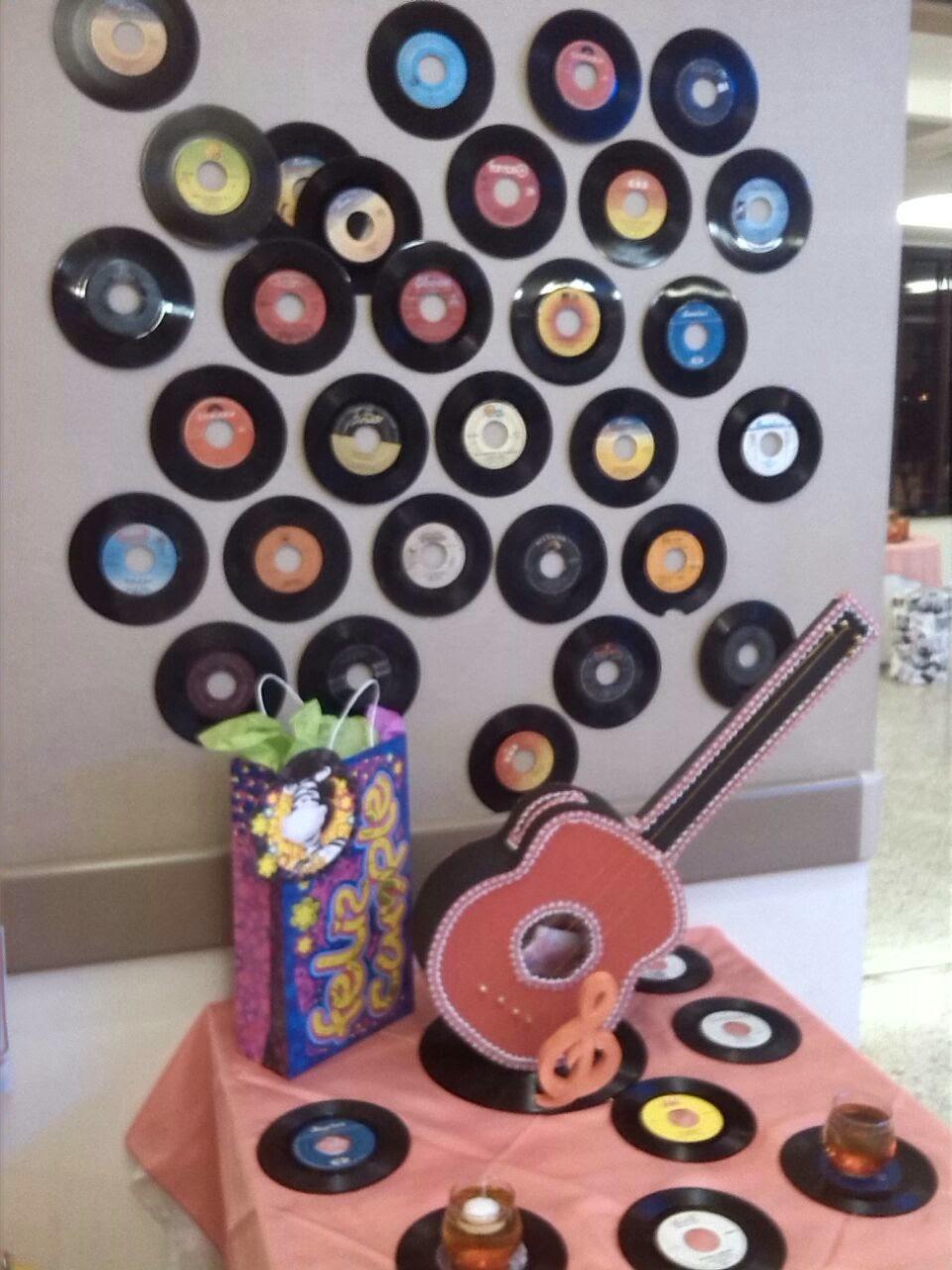 Events planners by maria eva fiesta tematica de los a os 60 for Decoracion fiesta anos 60