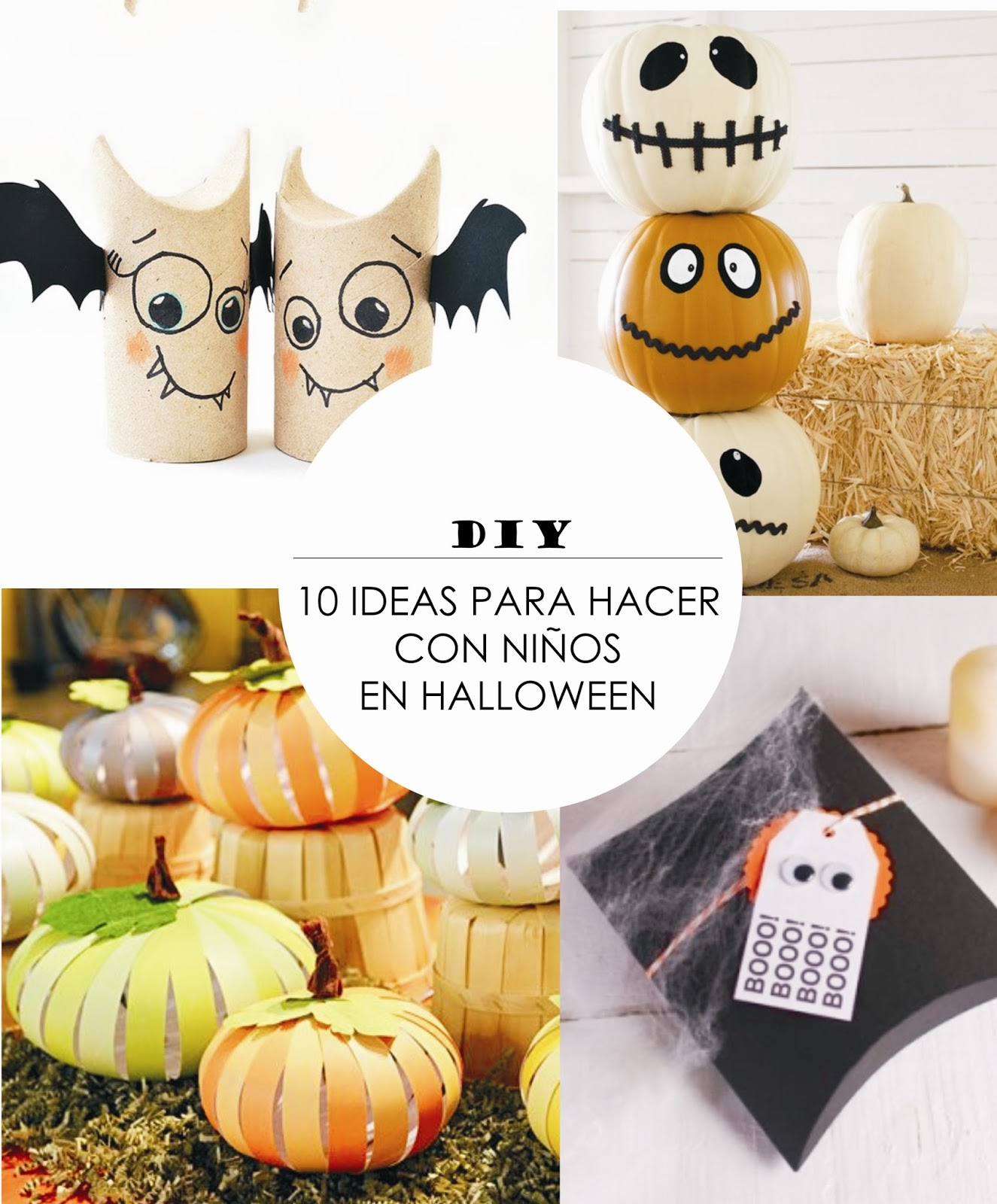 Y Un Poco De Diseno Diy 10 Ideas Super Baratas Para Hacer Con - Cosas-de-halloween-para-hacer-en-casa