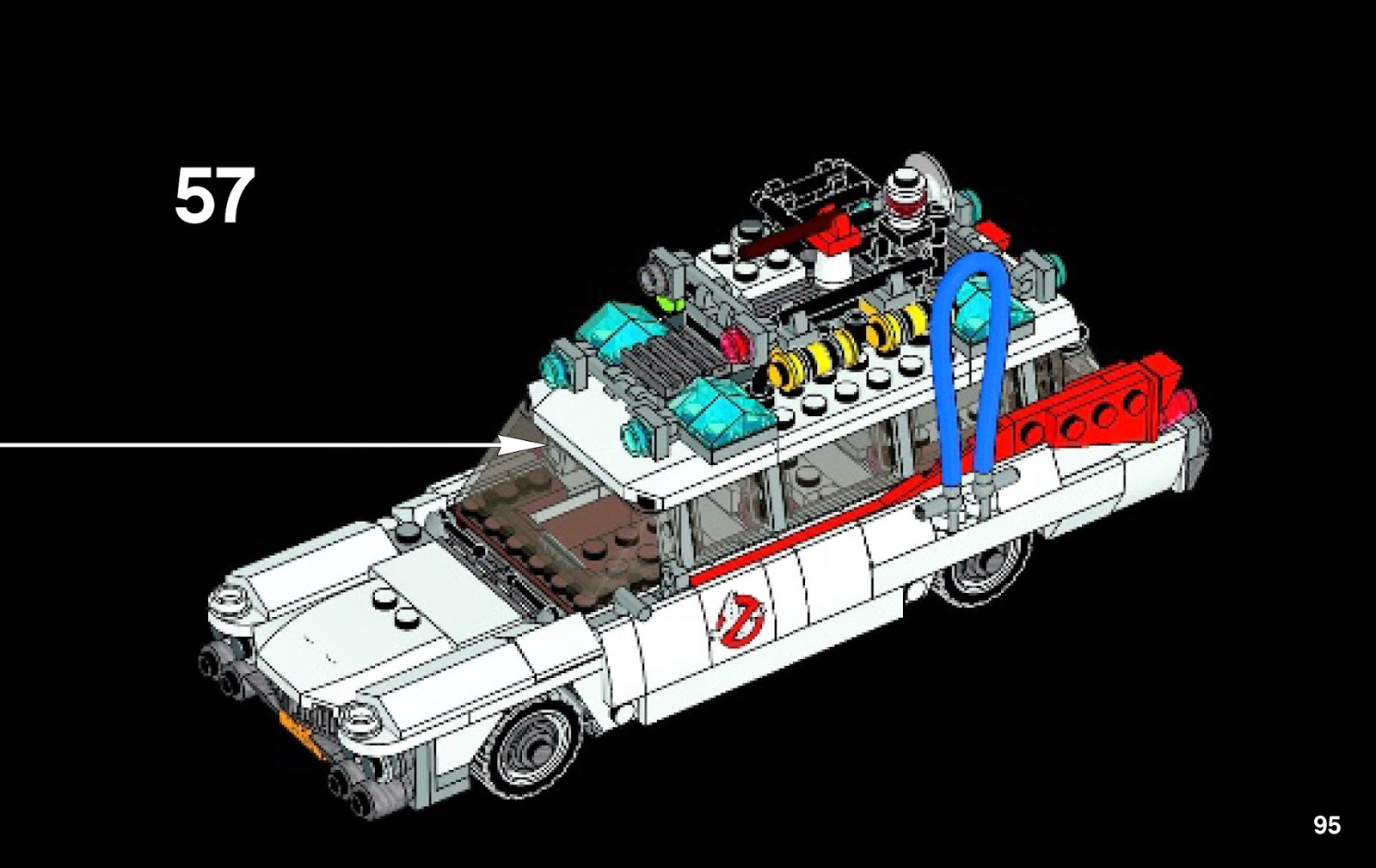 techfleet spot lego 21108 ghostbusters ecto 1 lego ideas build instructions. Black Bedroom Furniture Sets. Home Design Ideas
