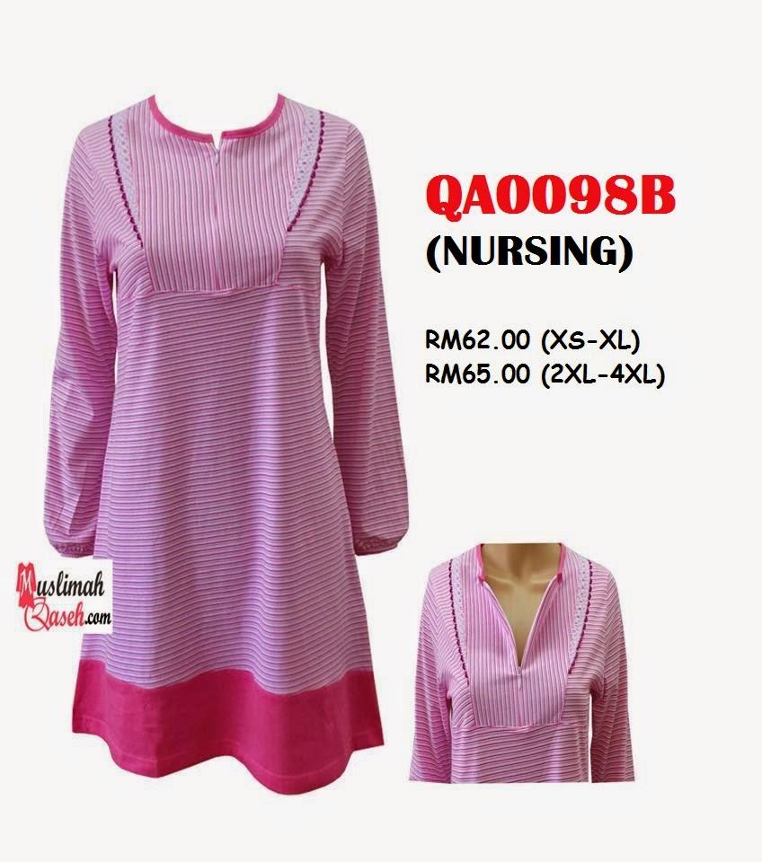 T-Shirt-Muslimah-Qaseh-QA0098B