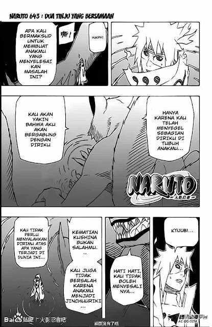 """Download Komik Naruto Chapter 643 """"Dua Tinju yang Bersamaan"""" Bahasa Indonesia"""