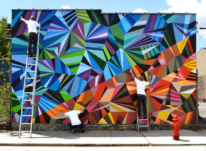 El muralismo y sus caracter sticas muralismo la p rdida for Exterior wall mural ideas