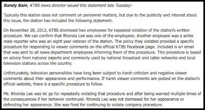rhonda lee interview aftermath
