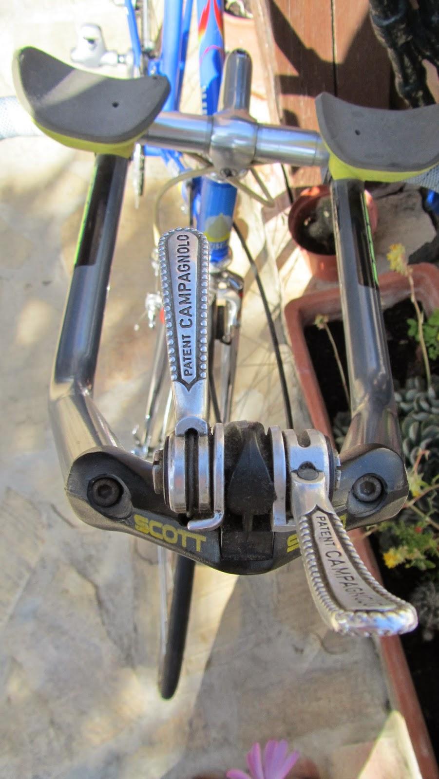 bicicleta orbea contrarreloj - palometas cambio campagnolo