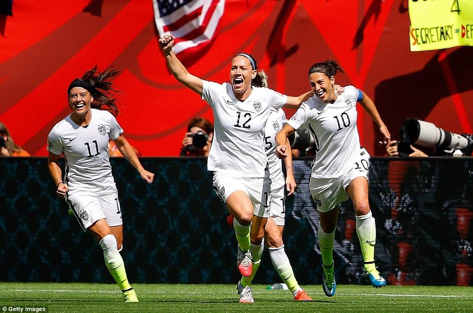 Cuplikan Gol Piala Dunia Wanita 2015: Amerika Serikat 5-2 Jepang