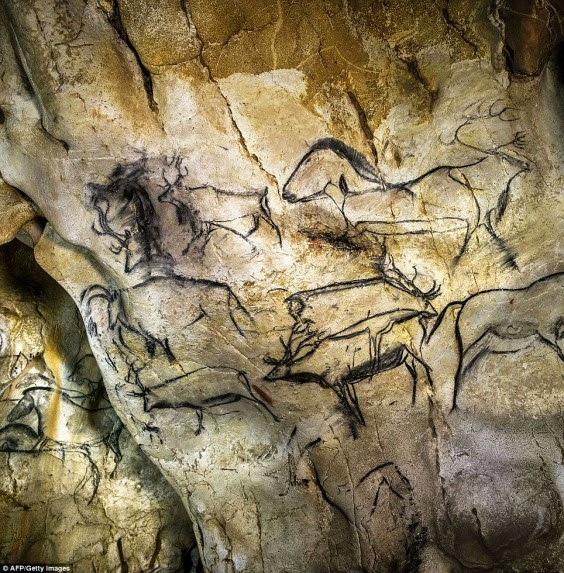 prehistoric drawings in France