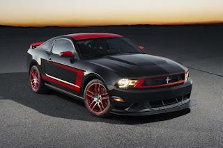 New 2012 Mustang Boss