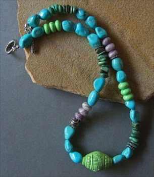 "Handmade Necklace ""Tibetan Treasure"""