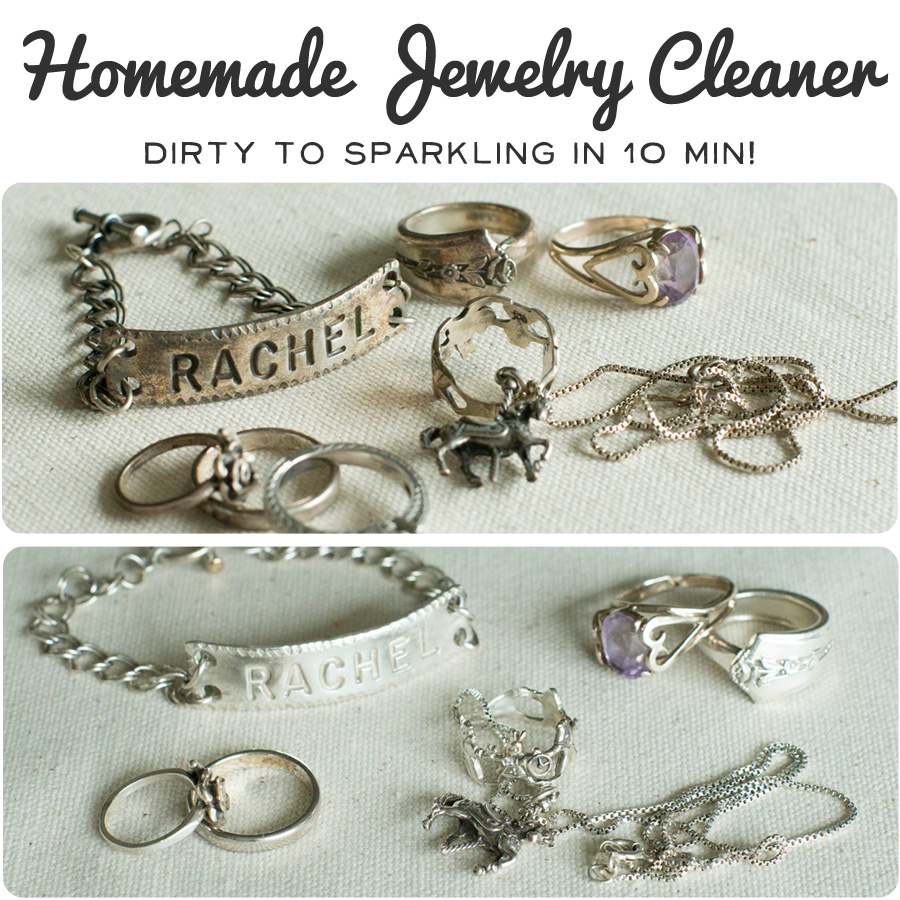 The Nonpareil Home: Homemade Jewelry Cleaner