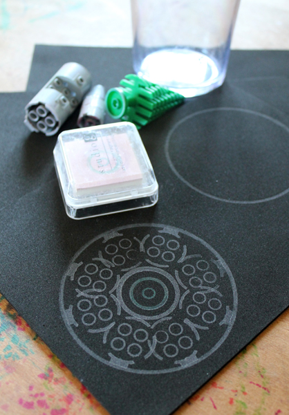 Filth Wizardry Stamping With Lego And Craft Foam