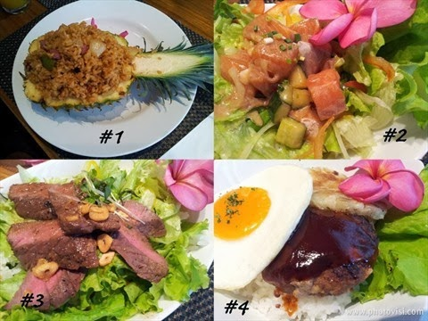 Riyanda keishaputri aloha terrace the first authentic for Authentic hawaiian cuisine