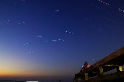 Bintang-bintang di atas pantai Teddys Kupang