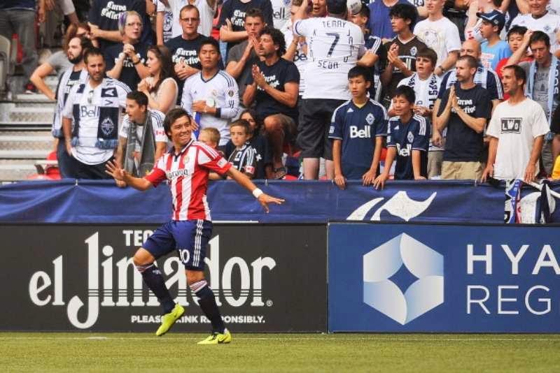 Erick Torres es el goleador de Chivas USA.