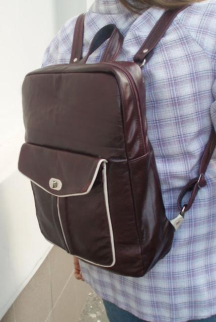 Кожаный рюкзак на заказ сшить 61