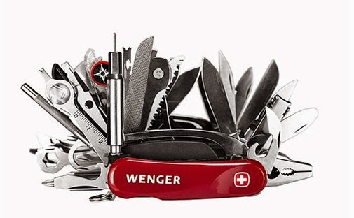 Giant Swiss Army Knife
