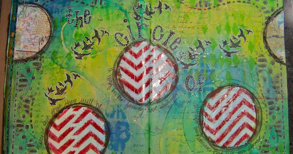 ellen vargo designs: Circle of Life - Ledger Journal Page