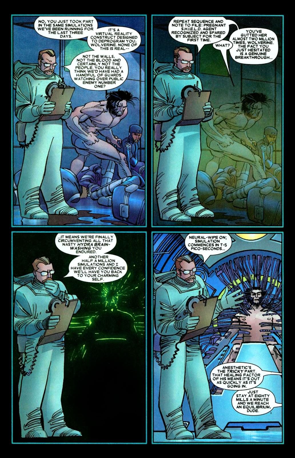 Read online Wolverine (2003) comic -  Issue #26 - 20