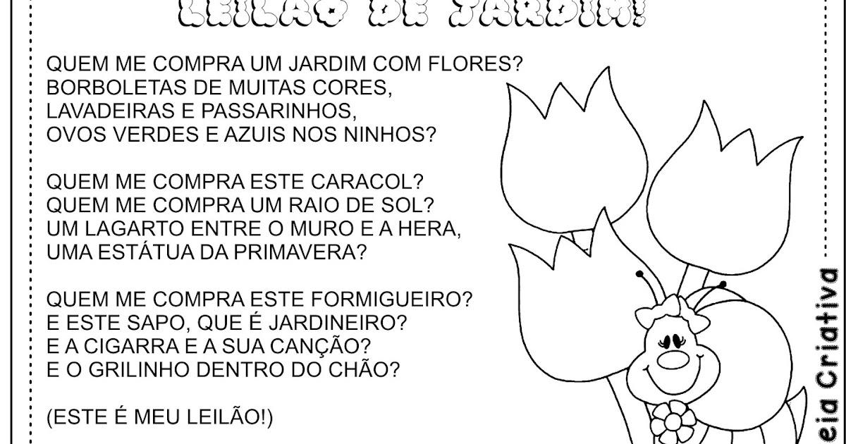 rosas no jardim poema : rosas no jardim poema:Poesia Ilustrada Leilão de Jardim Cecília Meireles