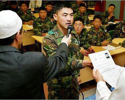 Tentara Korea Berbondong-bondong Masuk Islam