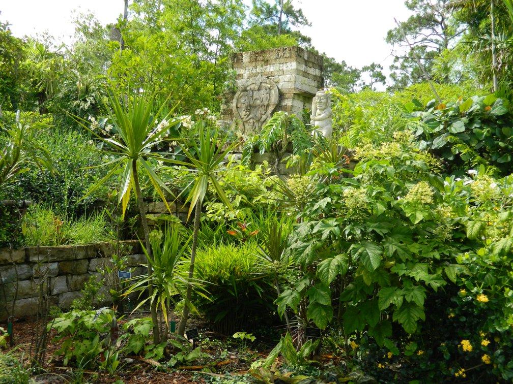 Candi Suka Ruin Lea Asian Garden Naples Botanical Garden by garden muses-a Toronto gardening blog