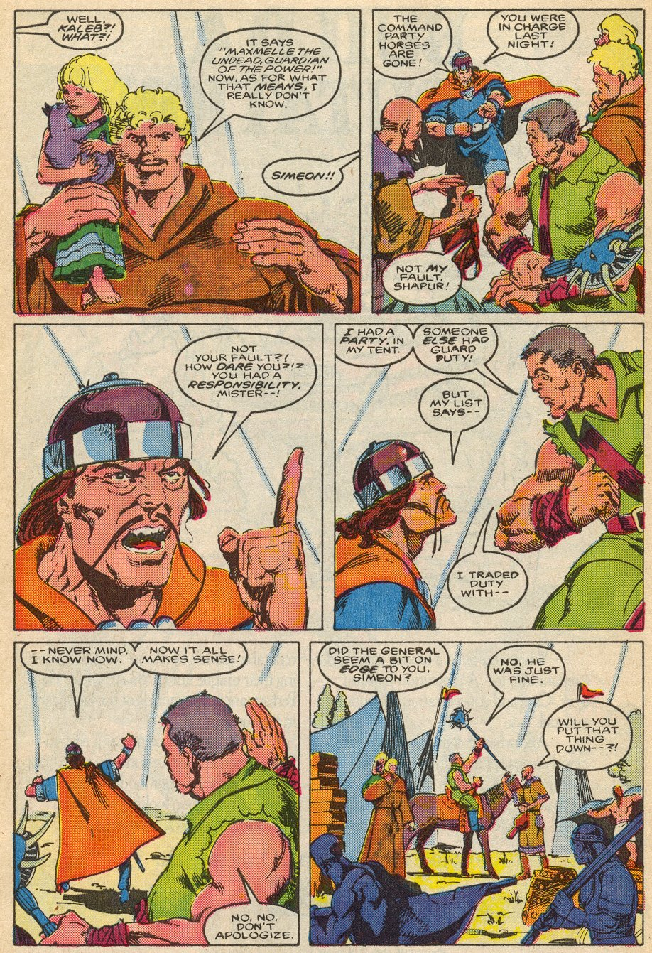 Conan the Barbarian (1970) Issue #195 #207 - English 9