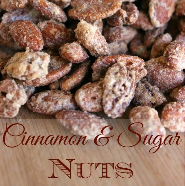 cinnamon-sugar-candied-nuts recipe