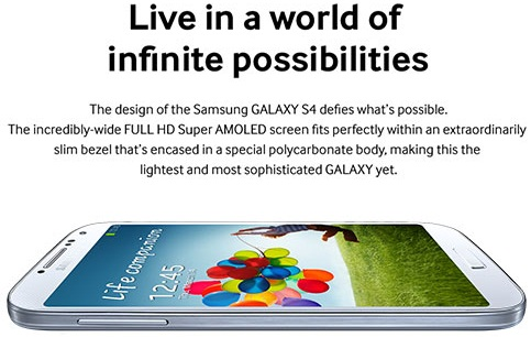 Samsung I9500 Galaxy S4 Smartphone