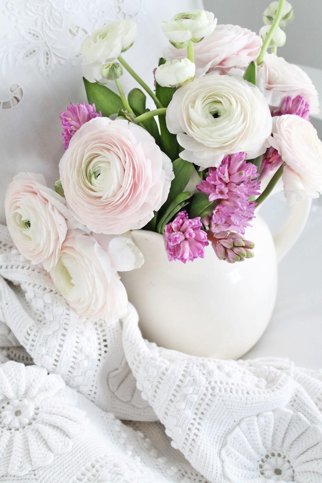 Good Morning Beautiful Pink Roses : Vibeke design pretty in pink