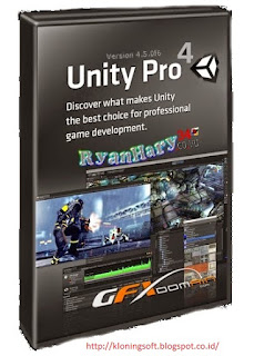 Download Unity 3D Pro v4.5.0 f6 (x86) Final + Crack Full Version