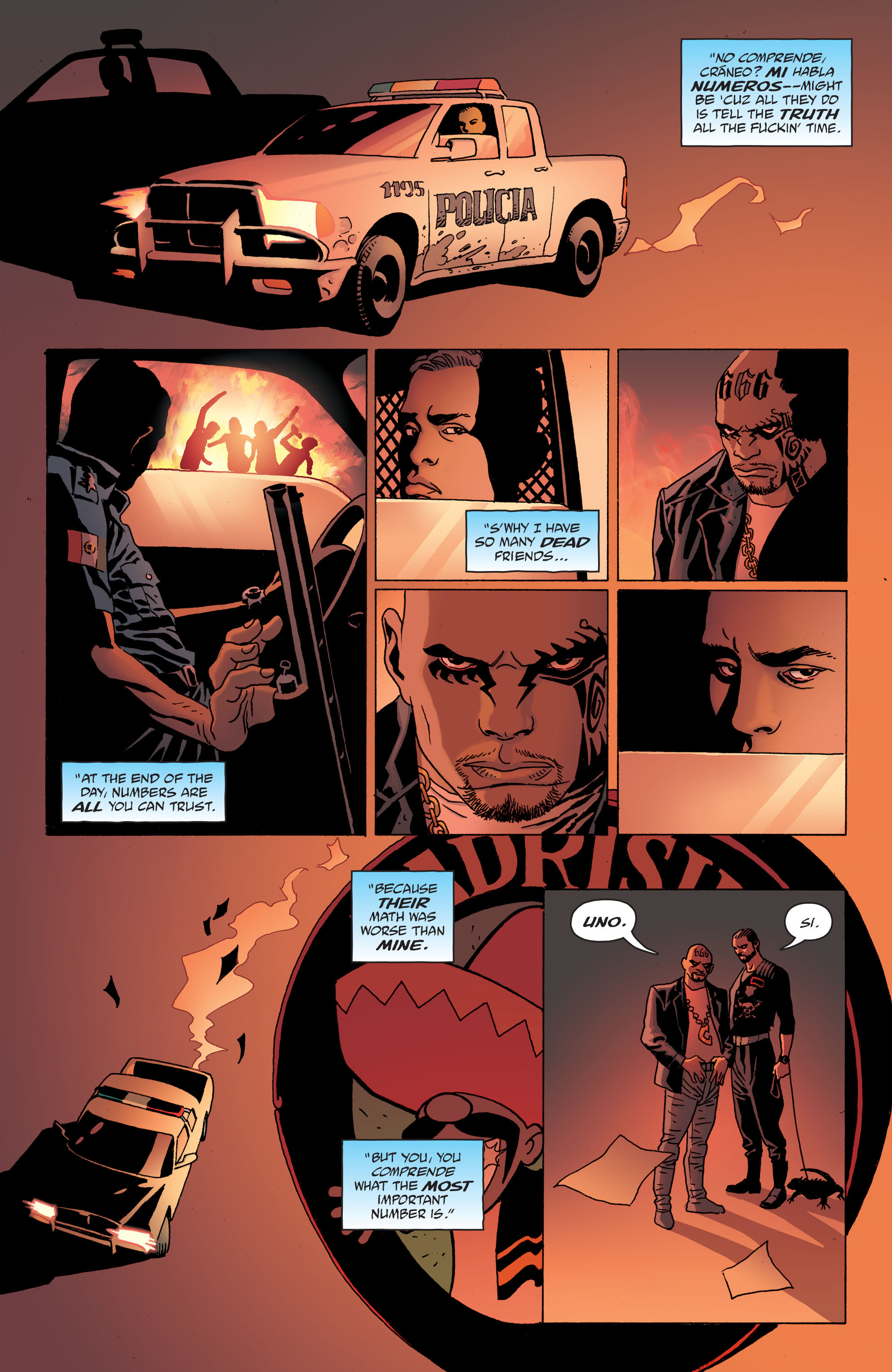 100 Bullets: Brother Lono Full Page 95