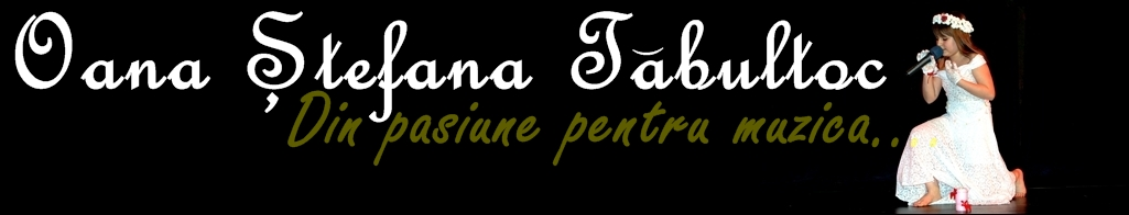 Oana Tabultoc - Site Oficial - www.OanaTabultoc.tk