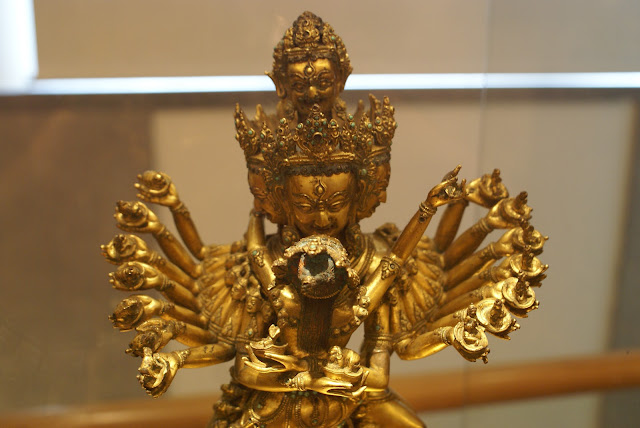 sculpture bronze du tibet