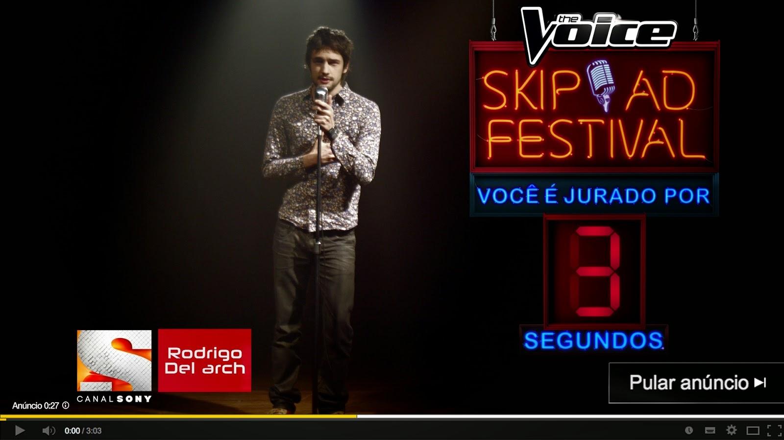 Skip Ad Festival - Canal Sony Brasil