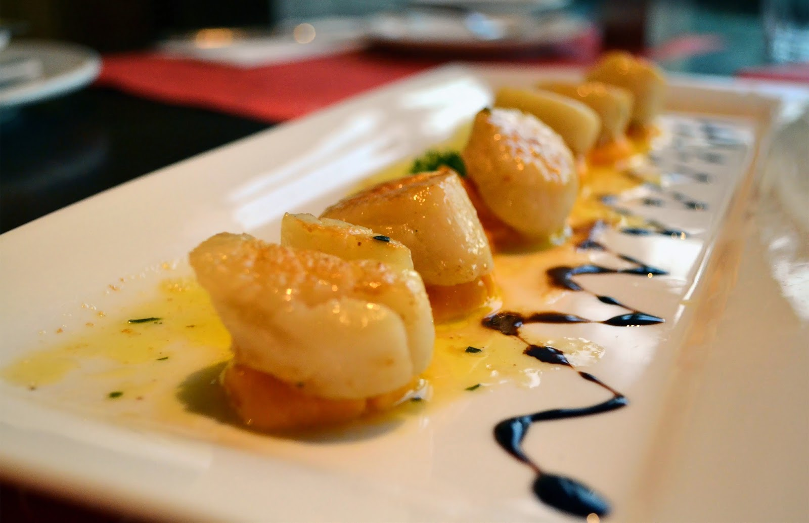 yummly seared scallops with tarragon butter sauce butter sauce seared ...
